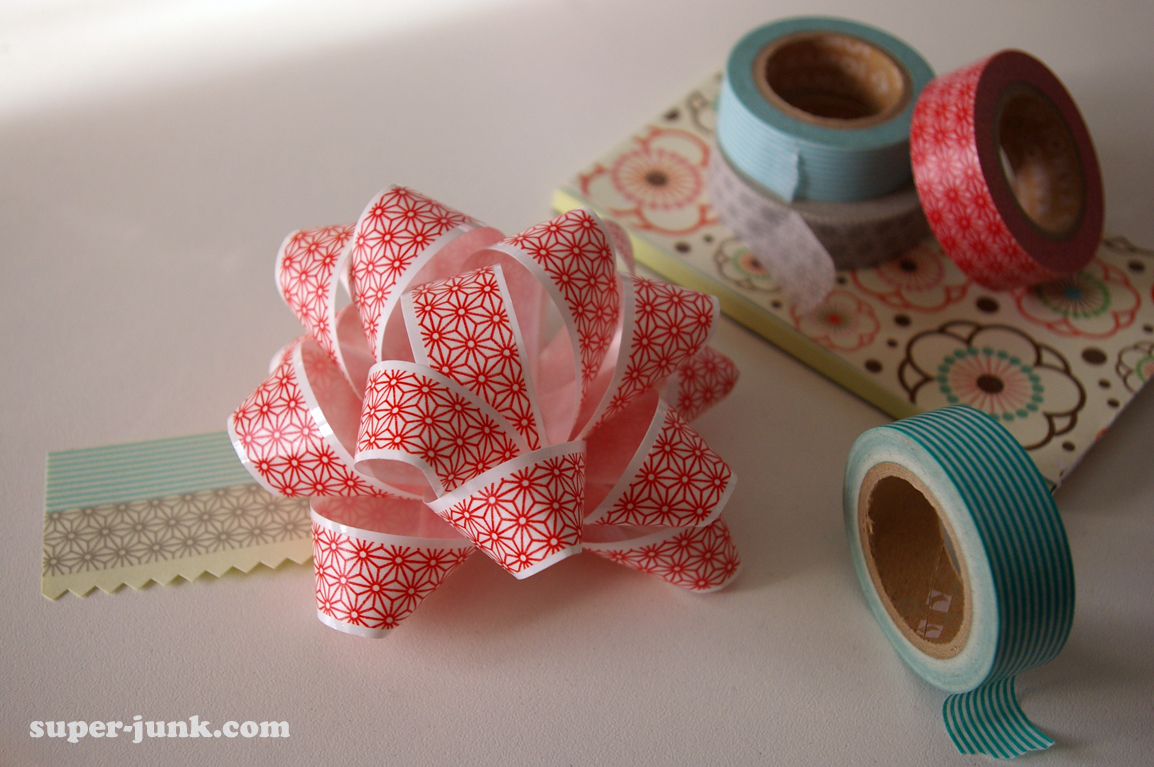 Japanese tape bow